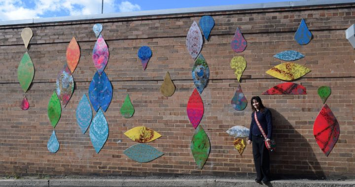 Natalie Topaz and artwork